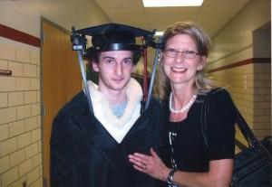 Dillon and I at graduation